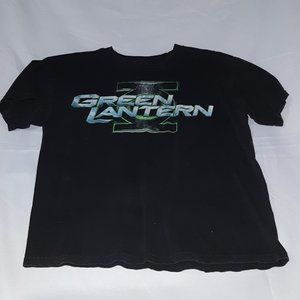 Vintage 90's Green Lantern shortsleeve Shirt Black